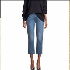 NEW Levi's Made & Crafted Slim Crop Mid-Ri…